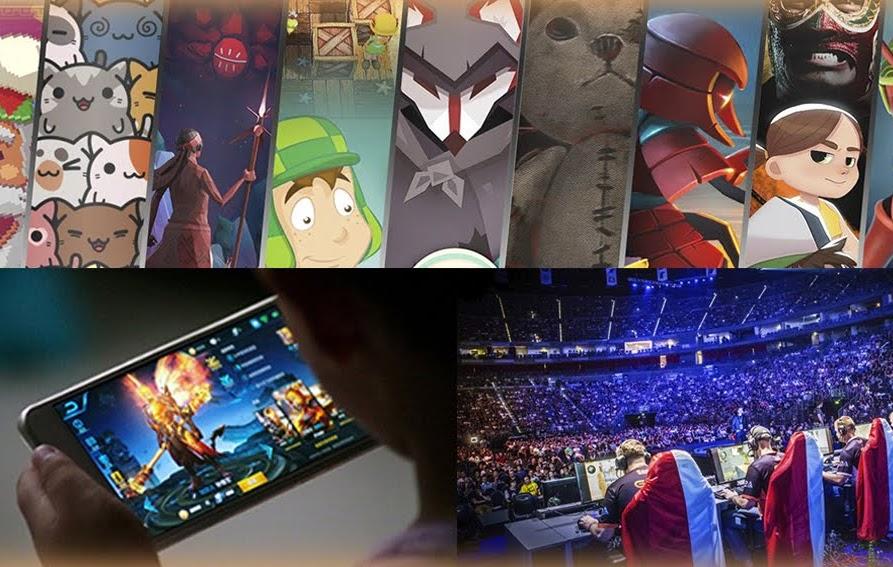 videojuegos, celulares, gaming