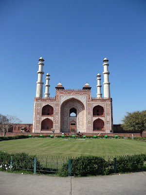 Akbar s Tomb at Sikandra near Agra in Uttar Pradesh