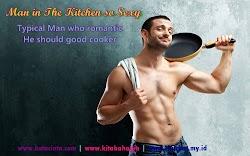 Stalking tentang Dapur VS Pria