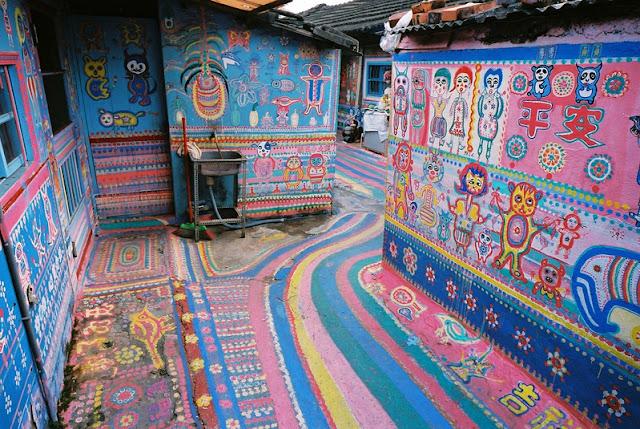 Làng Cầu Vồng tại Đài Loan