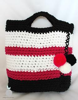 Bawełniana torba z pomponami