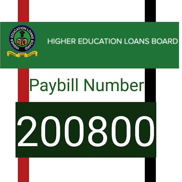 HELB Paybill number 200800