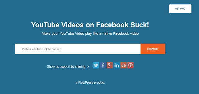 قم بنشر فيديوهات اليوتيوب على الفيسبوك بدون تحميلها
