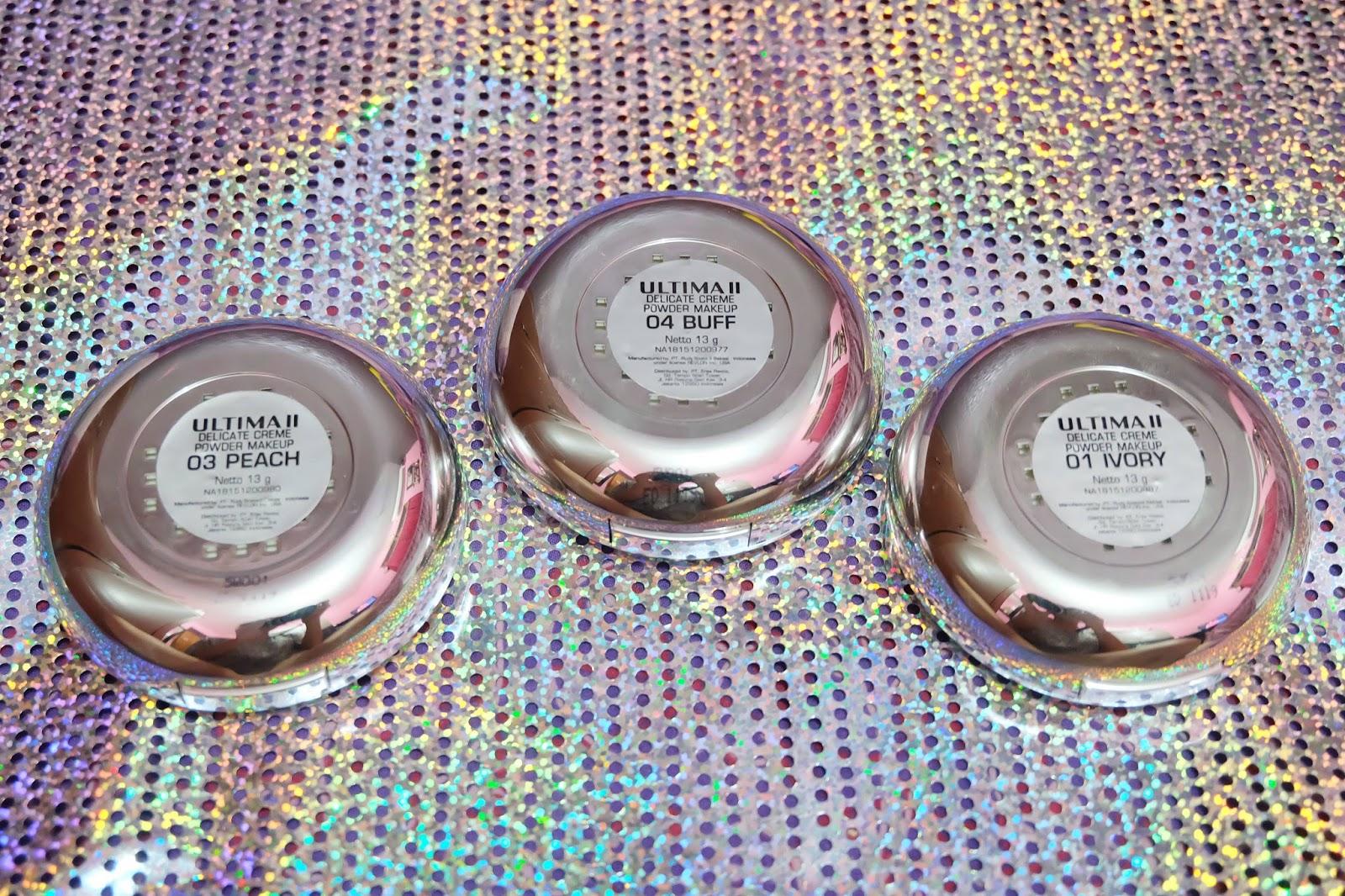 Review Ultima Ii Delicate Crme Make Up Translucent Bedak Tabur Ukuran Besar 5 Shades