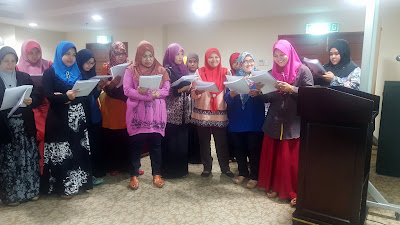 Kursus Bahasa Inggeris by Azmi Shahrin at SPR on 2-4 Feb 2016 for Triple A Training