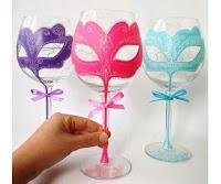 Decorar copas para fiestas