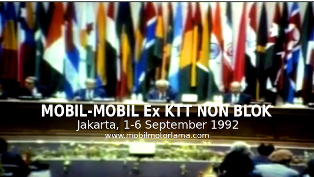Mobil KTT non Blok 1992 Jakarta Indonesia