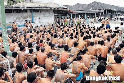 "Thai prison: ""Inmates live in inhumane and degrading conditions."""