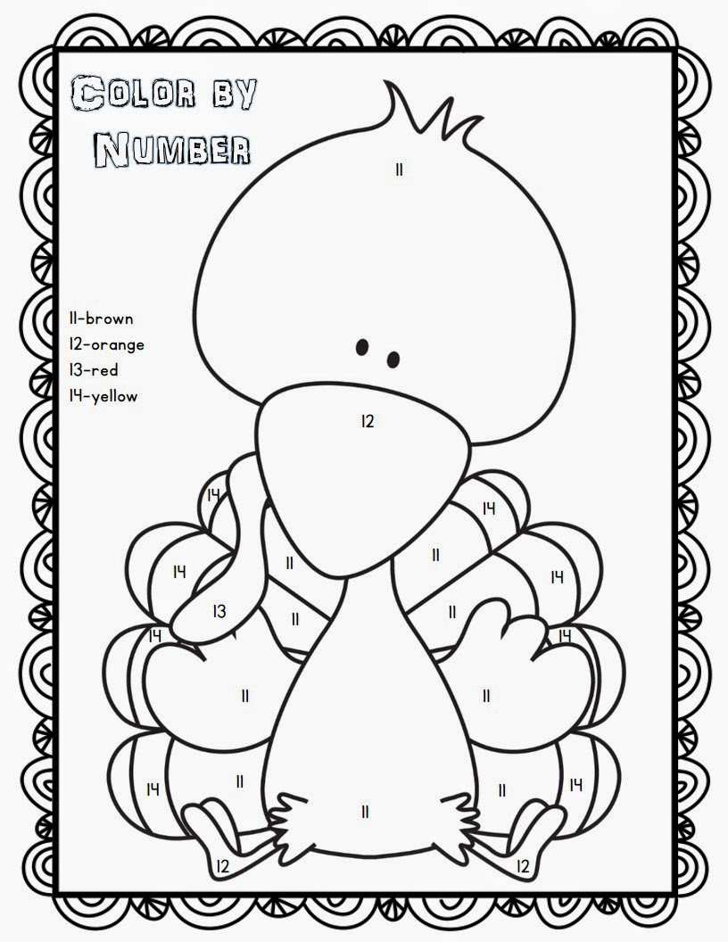 printable thanksgiving crafts coloring pages - photo#14