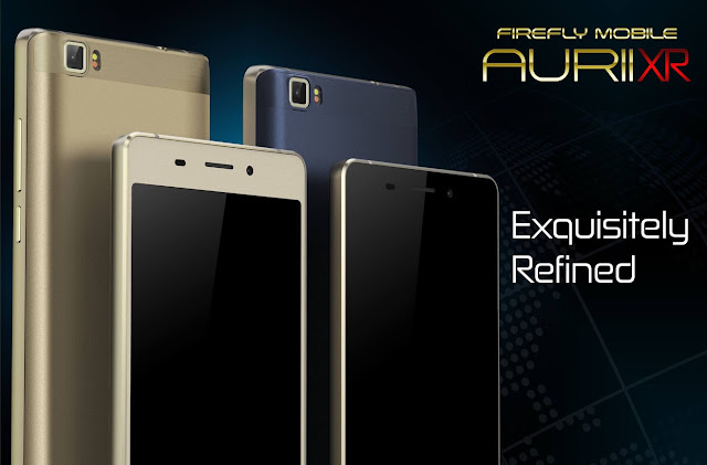Firefly Mobile Aurii XR Unveiled, Quad Core with Metal Body for Php2,999