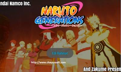 Download Naruto Senki Mod Generations By Edi Rahmat