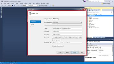 vs6 - Cara Upload Website ke Microsoft Azure melalui Visual Studio 2015
