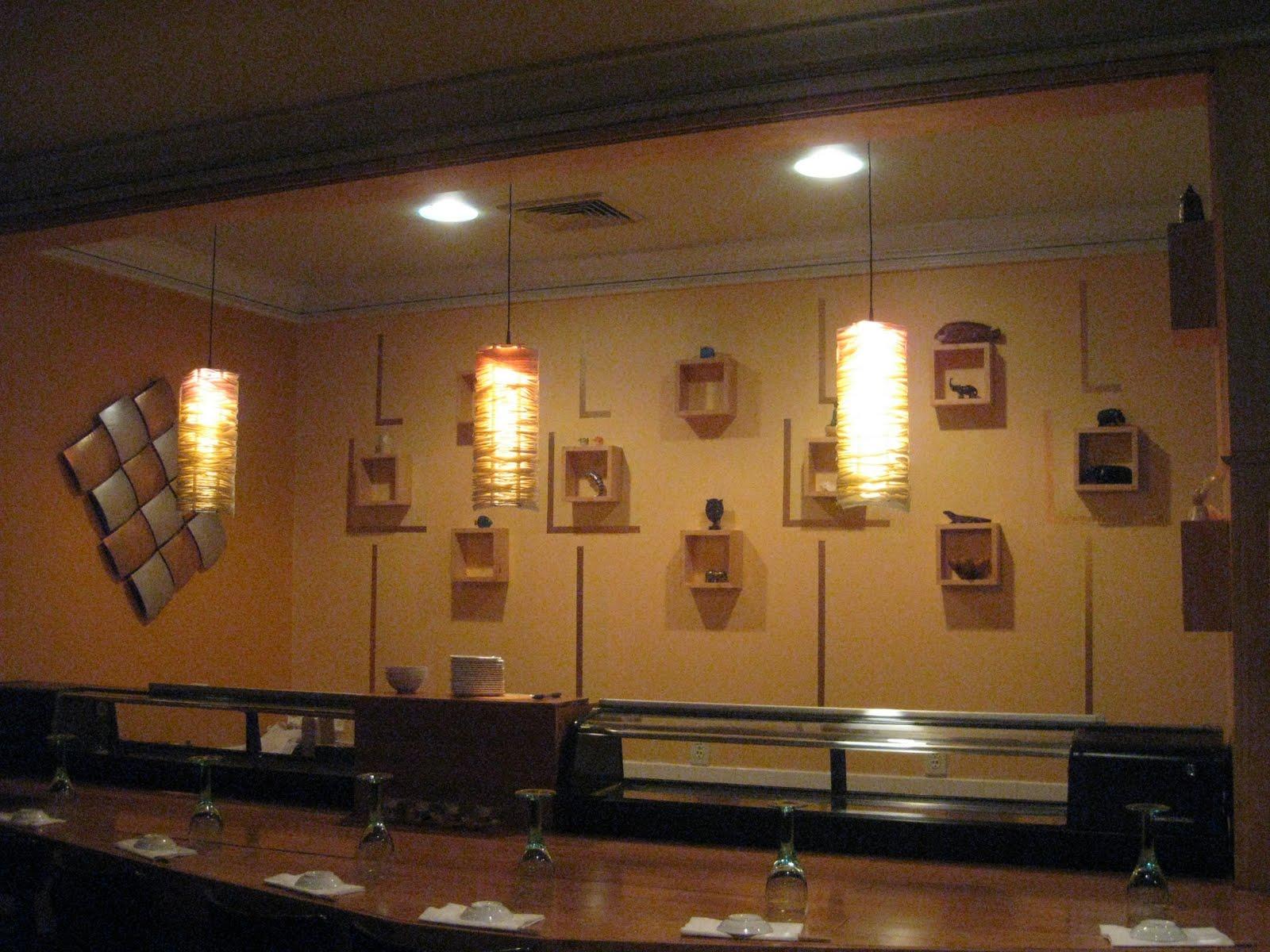 sushiandpassion: New Sushi Bar Wall Design