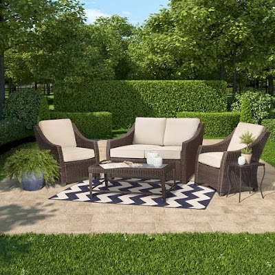 Patio furniture like Restoration Hardware
