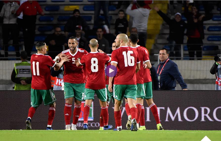 """فيديو : حكيم زياش يقود المغرب للفوز على الكاميرون بهدفين دون رد ويقترب من الـ""""كان"""""""