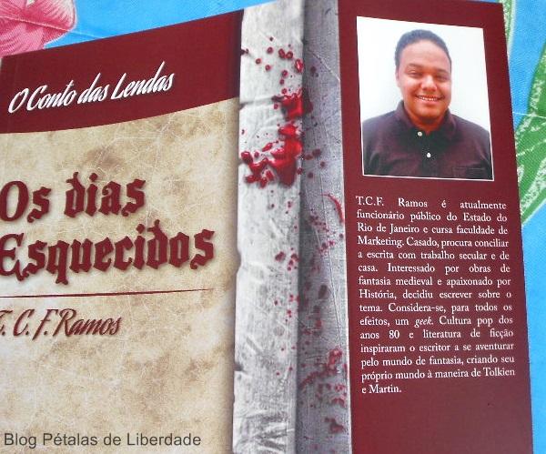 Resenha, capa, livro, Os-dias-esquecidos, Tiago-Ramos, Editora-Kiron, o-conto-das-lendas, fantasia,