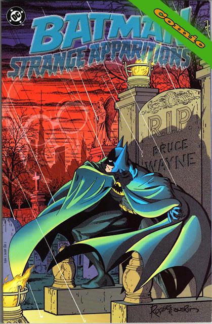 Batman - Strange Apparitions Portada