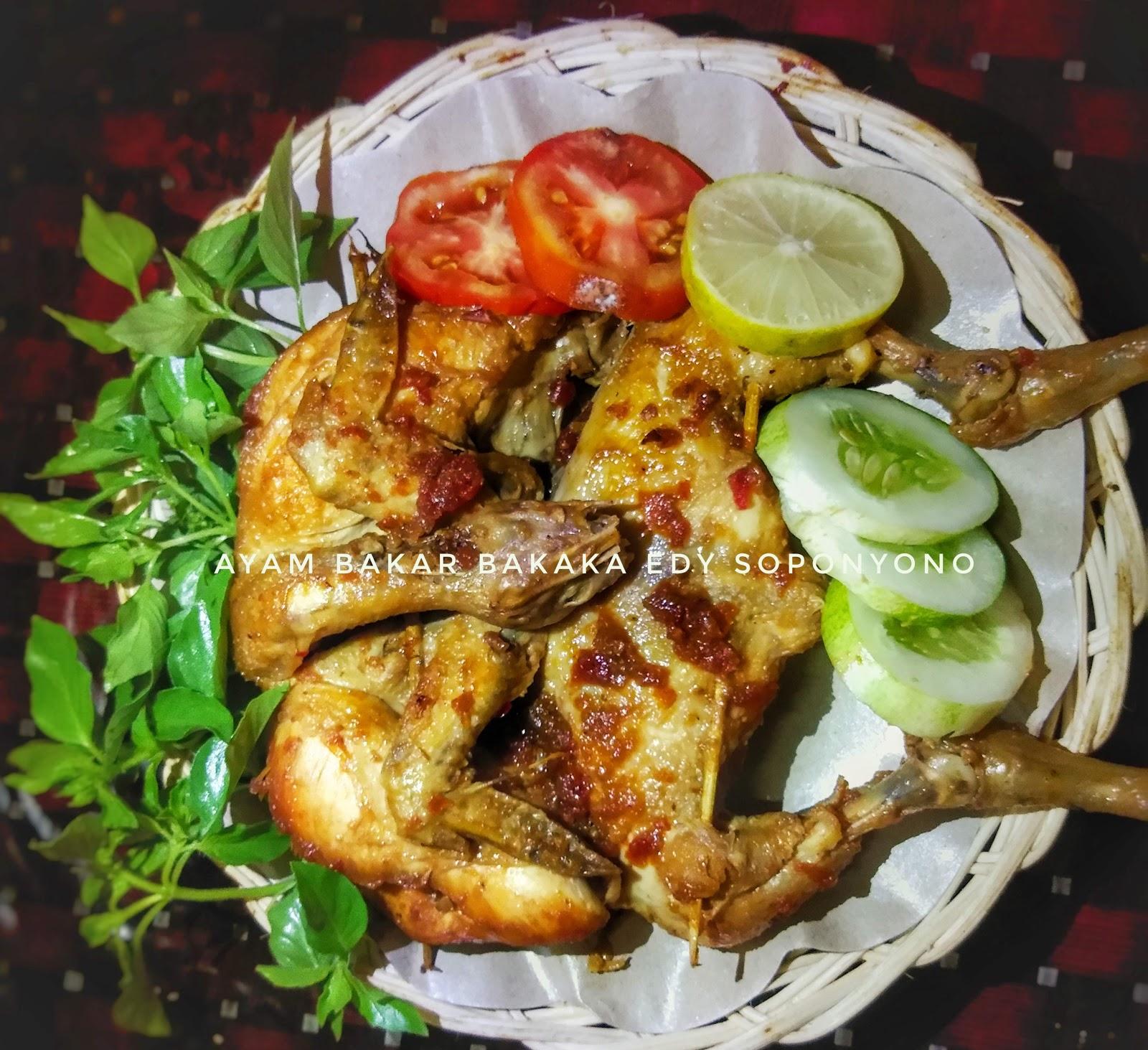 resep ayam bakar kecap utuh edwinas blogs Resepi Ayam Bakar Black Pepper Enak dan Mudah