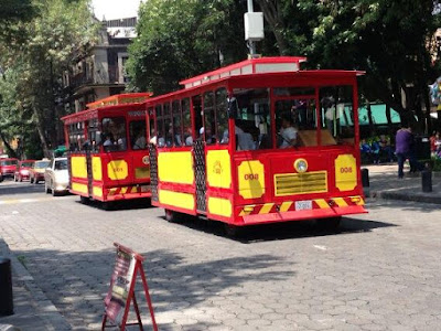 Tranvía Mezcalero Ciudad de México