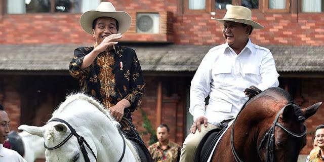 Meski Ungguli Prabowo, PolMark: Elektabilitas Jokowi Belum Aman