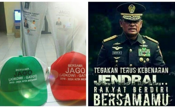 Beredarnya JAGO (Jokowi-Gatot), TAKTIK Benamkan Elektabilitas Jenderal Gatot Nurmantyo