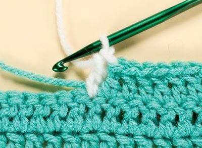 Como hacer la Puntada  Gota.Crochet