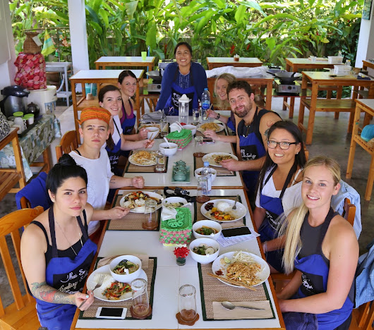 "Thai Cooking Class Photos from October 27 - 2017 ""Enjoy:)"""