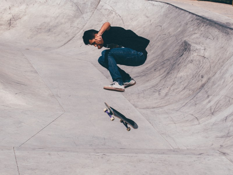 Download Kickflip Skateboarding HD wallpaper. Click Visit page Button for More Images.