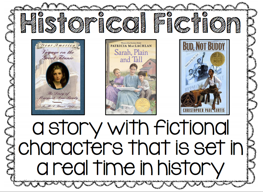 also have the historical fiction poster from my free genre pack on display  adrienne teaches rh adriennewiggins