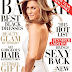 JENNIFER ANISTON IS A GODDESS IN WHITE FOR THE DECEMBER 2014 ISSUE OF 'HARPER'S BAZAAR'