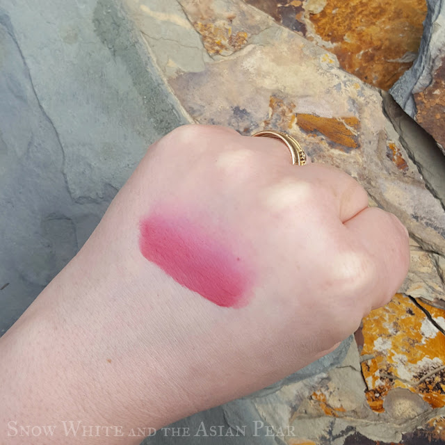 Peripera Ink Airy Velvet #10 Dry Rose Brown swatch