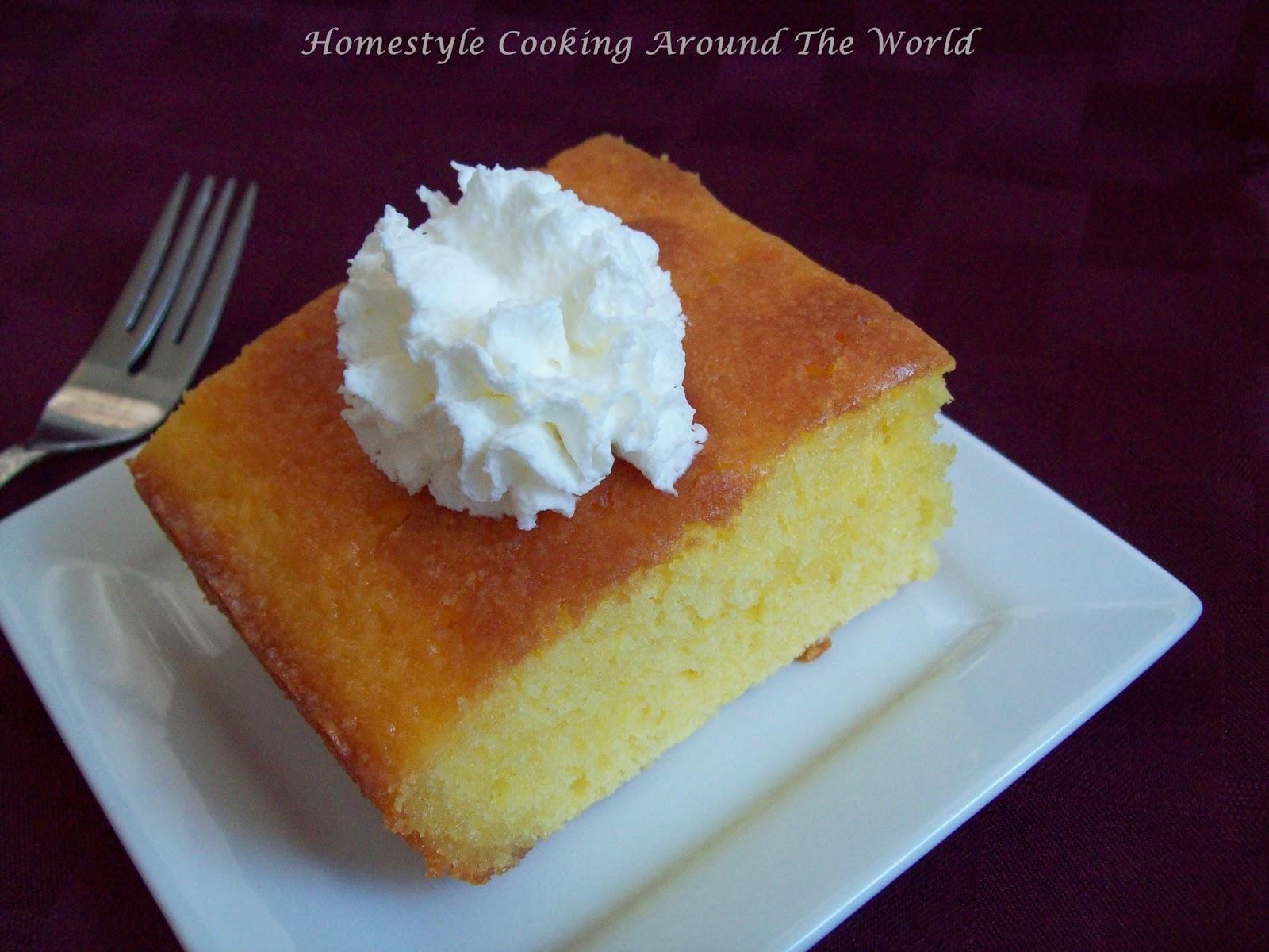 Cake Recipe With Lemon Jello: Homestyle Cooking Around The World: Lemon Glaze Cake