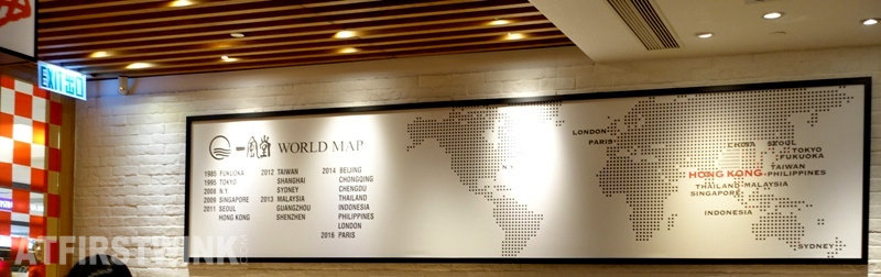 Ippudo ramen restaurants world map admiralty hong kong