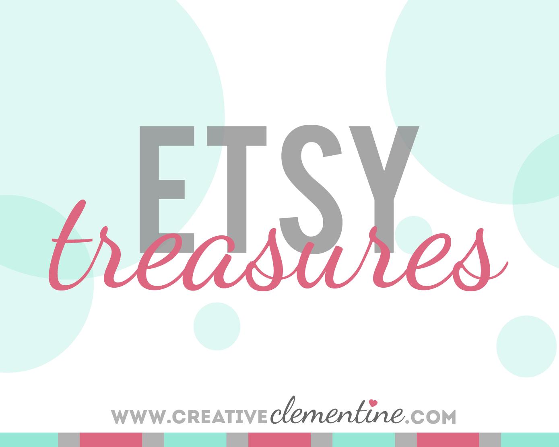 Etsy Treasuries via CreativeClementine.com