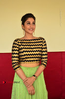 Actress Regina Candra Latest Pos in Green Long Skirt at Nakshatram Movie Teaser Launch  0111.JPG