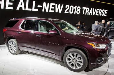 2018 Chevrolet Traverse: Date de sortie, remaniement, prix