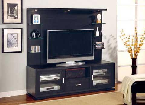 Meja tv lcd wall minimalis
