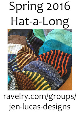 Knitting Like Crazy: Spring 2016 Hat-A-Long