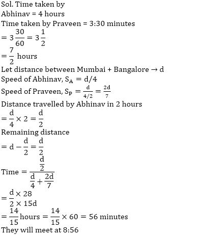 समय, गति और दूरी का नोट्स : यहाँ देखें समय, गति और दूरी (Time, Speed and Distance) के नोट्स और इसपर आधारित प्रश्न_140.1
