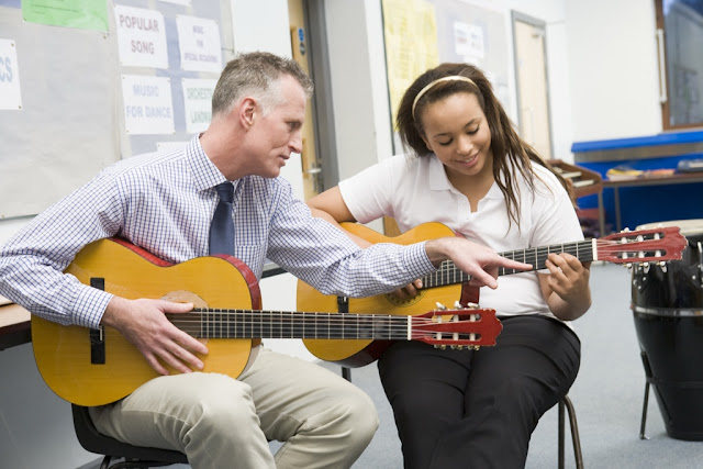 Brighten your guitar playing career by taking help from The Best Guitar Teacher