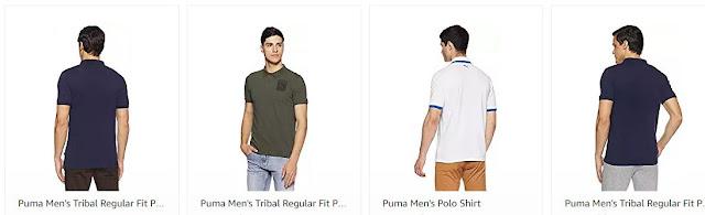 Amazon Puma Men's T-Shirts