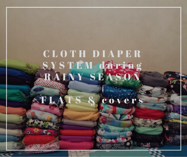 Cloth Diaper System During Rainy Season