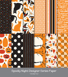 Spooky Night DSP by Stampin' Up!