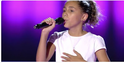 Georgina: Hallelujah | Audiciones a ciegas La Voz Kids