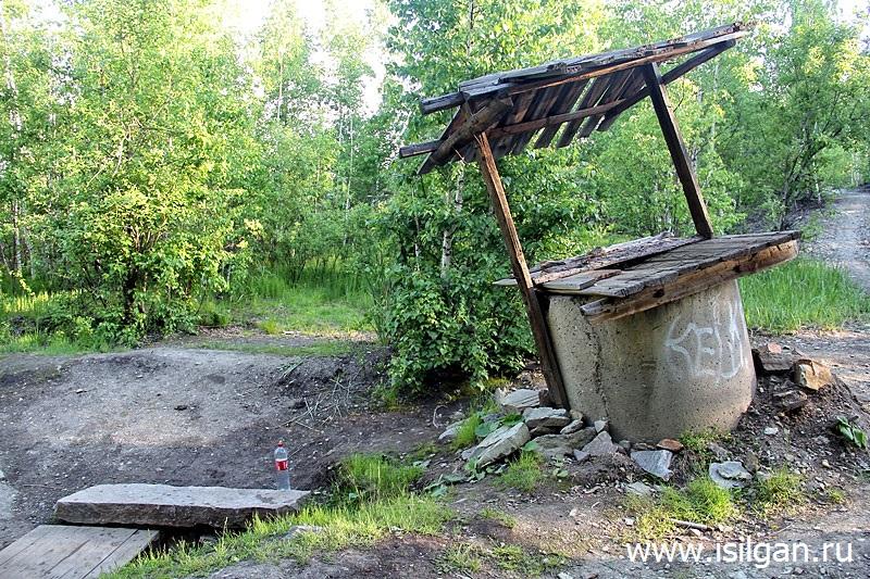 Ключик в гаражах. Город Карабаш. Челябинская область