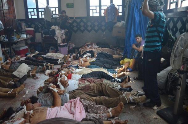 Bildergebnis für قوات الامن تقتحم مسجد الفتح