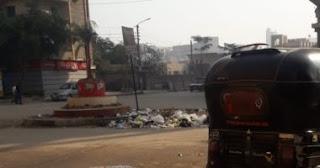 شكوى من تراكم أكوام القمامة بشوارع مدينة ميت غمر