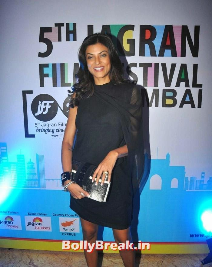 Sushmita Sen, 5th Jagran Film Festival Red Carpet Pics