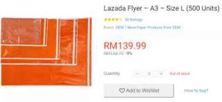 Perlu Atau Tidak Beli Flyer Lazada?
