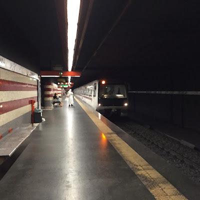 Treno metropolitana Roma